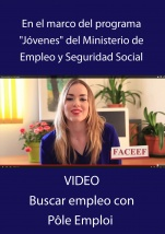 VIDEO Buscar empleo con pole Emploi