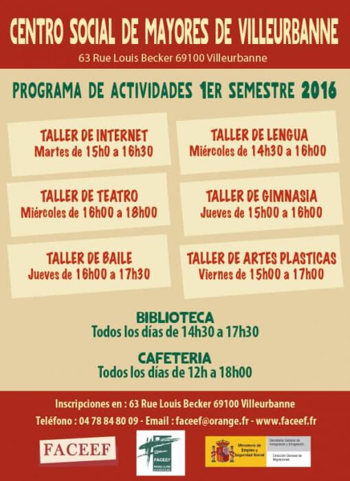 2016 Actividades Villeurbanne